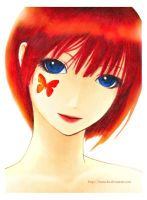 crimson butterfly by mamcha