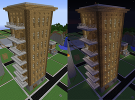 NYCxVillager Building by Animela-WolfHybrid