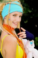 Rikku - Flash a smile by Turmix-Pro