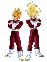 Goku and Vegeta by DBZArtist94