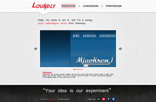 Loundly Layout V1 by loundly
