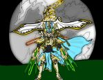Gold Paladins In the Moonlight by ArcusGallium