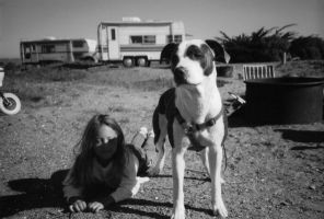 Haley and Lucky by MarcWF