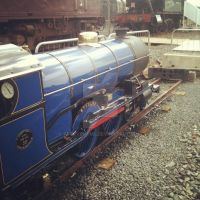 The Little Blue Engine Up Close (RAILFEST 2012) by AferVentus