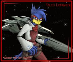 Brawl: Falco Lombardi by MidNight-Vixen