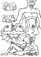 Whampire Sketches by Mimint