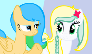 Two Sisters:Eilin and Melissa by SunsetSun42