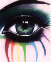 colour leaking eye by miander92