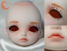 BJD Face Up - Asleep Eidolon Peppermint by Izabeth