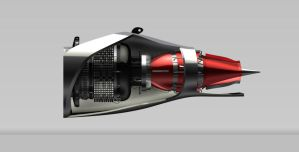 Pod Engine From the Side by b1gdan