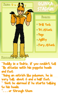 Gijinka Stadium: Dudley by Changeling007