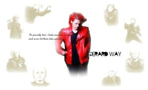 Gerard Way wallpaper by realtimelord