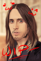 Jared Leto WIP by TimelordLoki