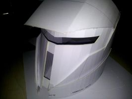 Destiny Cosplay: Titan Helmet (30% Complete) by UnknownEmerald