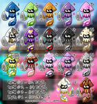Set Price Inklings! OPEN by lab-rats