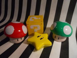 Super Mario Objects by Taneja