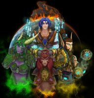 The Aspects - BlizzCon 2011 by MagicalMelonBall