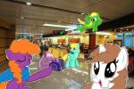 At The Airport by alicupcake12356