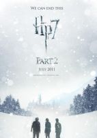 Deathly Hallows Part 2 Poster by jefferson-hp