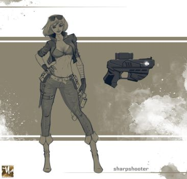 sharpshooter by prosn