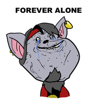 FOREVER ALONE by fish-puddle