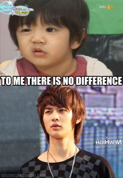 yoogeun and minho appa ... no difference ! by AndyAndreutZZa