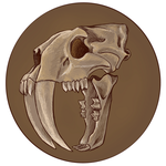 Smilodon Skull by virgiliArt