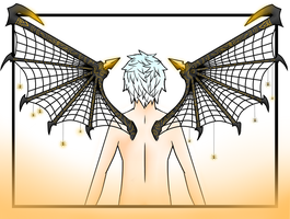 Art Project 2 - Spider wings by Voxollous