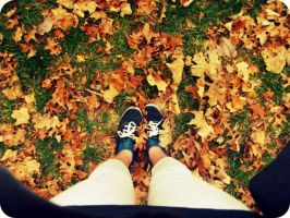 Fall is here. by somethingvaguee