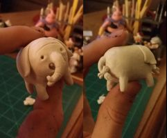 WIP Tree Trunks Sculpt by Tvonn9