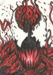 Carnage Sketch Card by Graymalkin2112