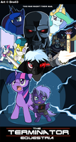 Terminator-MLP Crossover Cover by Droll3