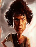 Ripley - Aliens by DevonneAmos