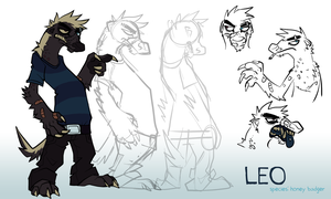 character sheet - leo by Duckstapler