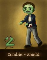 Z is for Zombie by Pauliinita