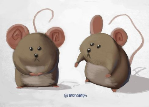 mouse by Monomus