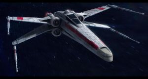 Incom T-65A Republic X-Wing by Shoguneagle