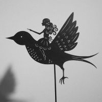 Thumbelina - Shadow Puppet by PaperTales