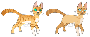 HYPOKITS || Pheasantleopard and Viperfrost by rainwolfeh