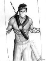 Zabuza by PirateCaptainJess