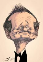 Bill Murray by Bisart