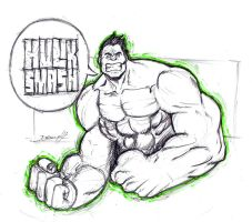 We have an Hulk by DomEddi