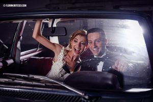 Driving home from wedding by kyrytescu