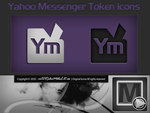 Y-mail Token icons by vi20RickrMetal12us