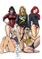 Comics_Girls. by Troianocomics