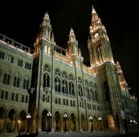 The Rathaus, Wien by alexza