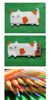 Cat Pencil Pouch 2 by uglykat