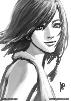 Yuna Portrait by Accuracy0