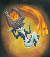 LOZ - Midna in Oils by The-Legendaerie-LT
