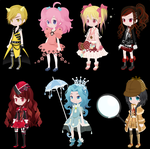 free selfy adopts (closed) by i-am-a-fangirl